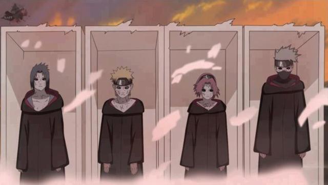 秽土转生_火影忍者:第七班被秽土转生,小樱实力大削,卡卡西或是