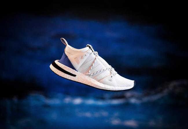 今年的街头爆款!全新鞋型 adidas ARKYN 白蓝配色亮相,莆田运动鞋