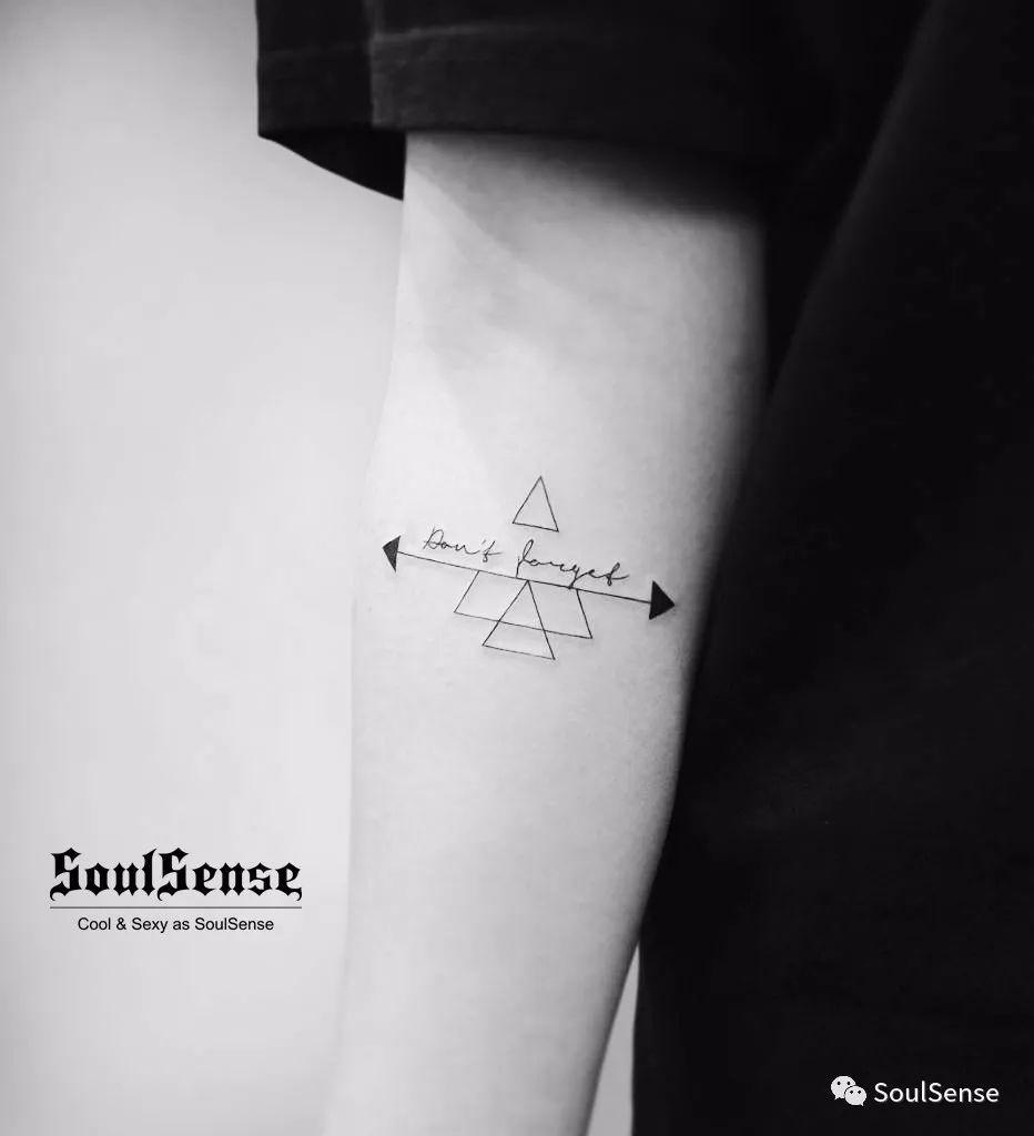 soulsense 纹身 | 单身20年的手臂配上什么才有吸引力图片