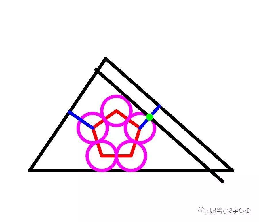 step13偏移o通过(t)或者复制(co)过圆和垂线的交点复制出线段
