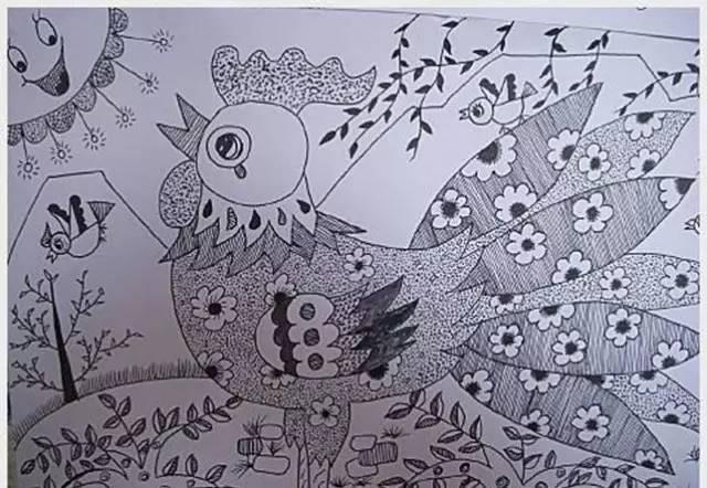 【绘画篇】幼儿园线描画的教学步骤,快看看图片