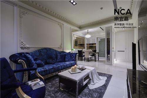 乐宜嘉设计案例丨2018欧式客厅装修效果图