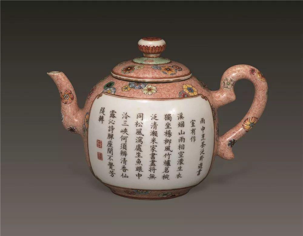 悦 读 乾隆的瓷茶壶图片