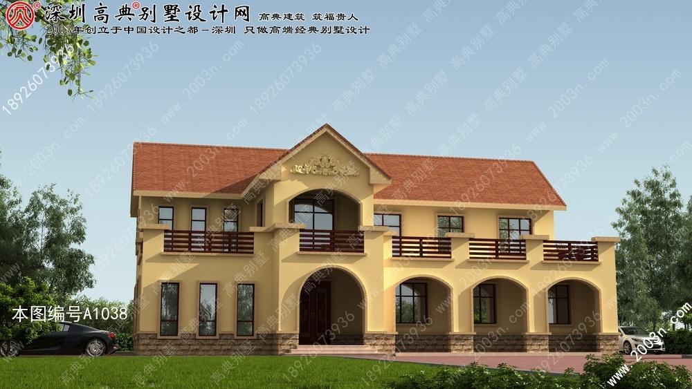 四川农村自建房设计图农村单层自建房设计图