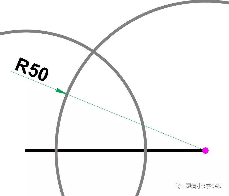 教育正文解答方法step1直线命令(l)绘制长度为60的水平线段.