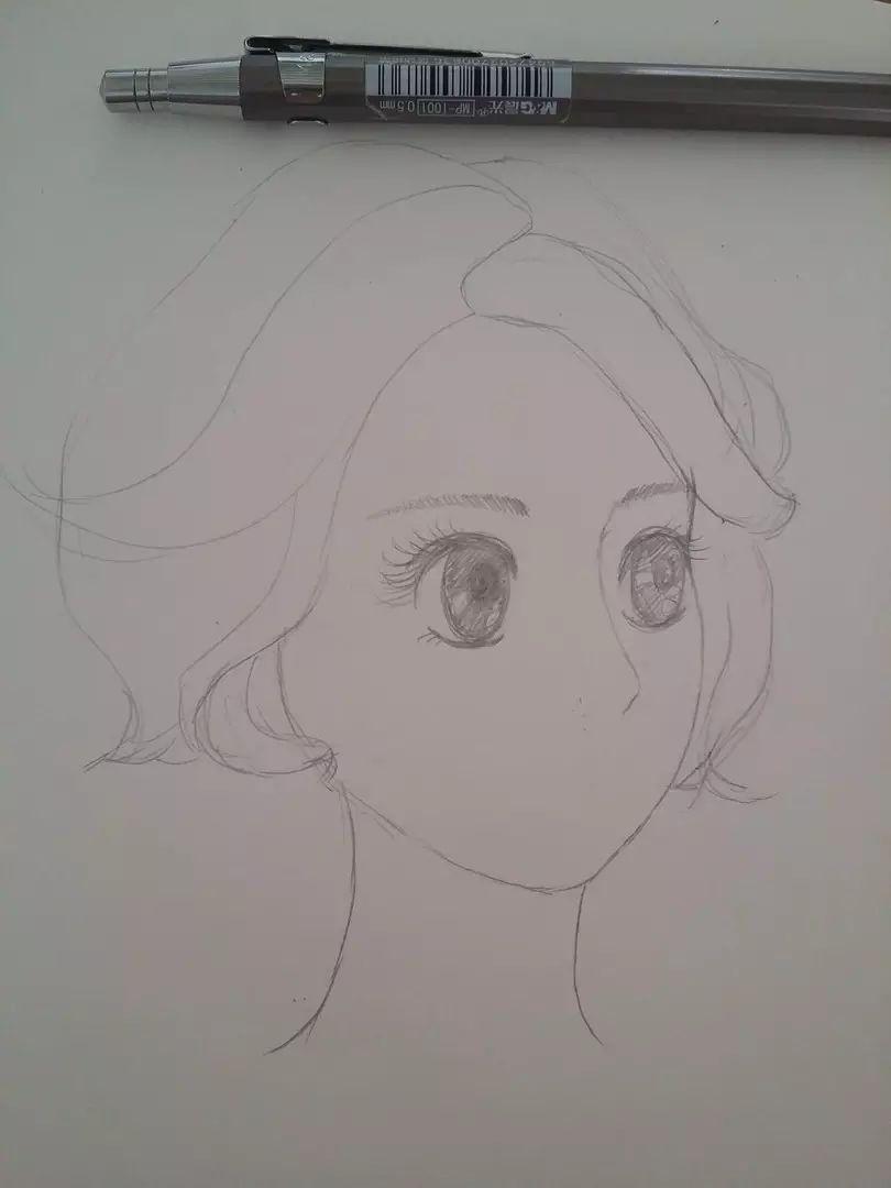教你用马克笔画出漂亮又质感的头发