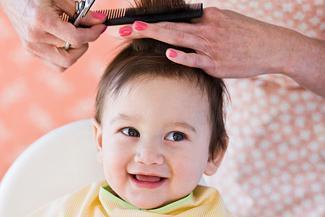 发型设计 婴儿发型女宝 > 女宝寸头发型图片展示图片