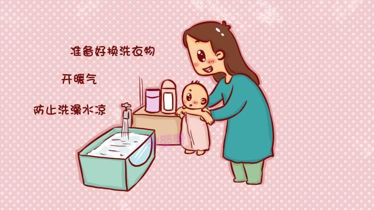 然后,妈妈们在给宝宝洗澡的时候需要注意以下这些图片
