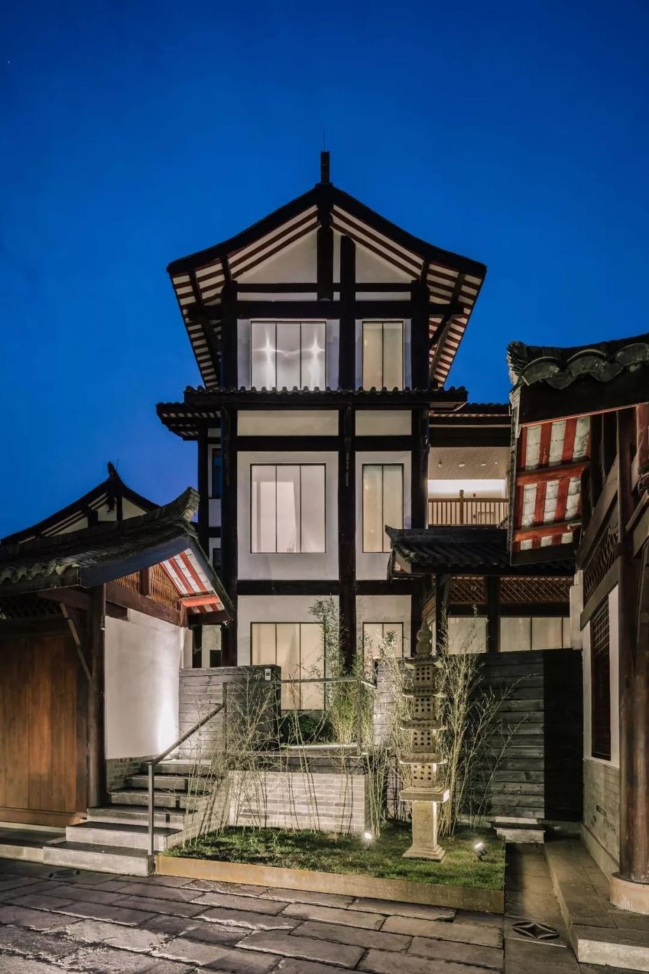 青砖钢结构别墅