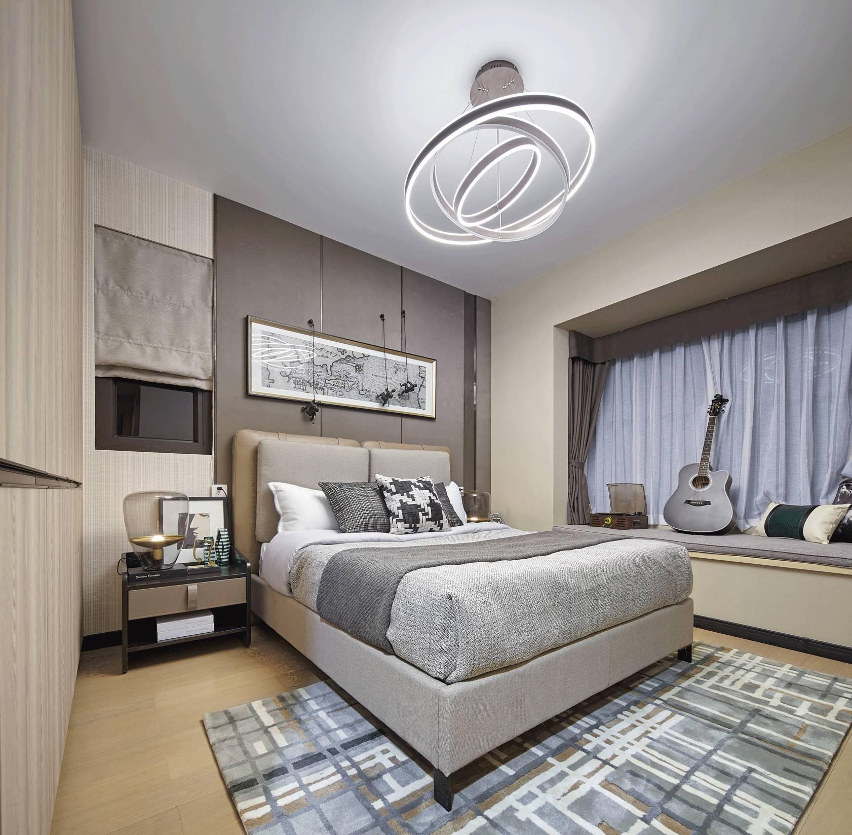 90㎡极简灰样板房设计,打造极致精致优雅生活!