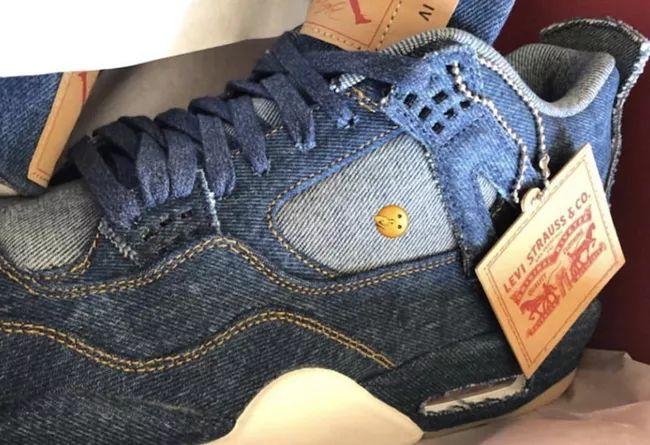 超限量发售!Levi's x Air Jordan 4 本月重磅登场,莆田精仿鞋