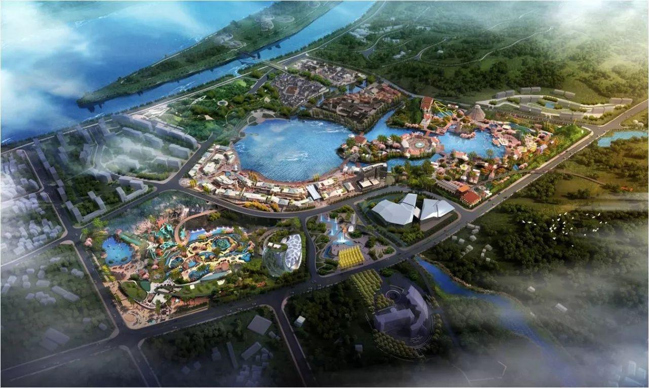 7万平方米,总投资约20亿元,建成后将成为 世界最大室内冰雪乐园与水上