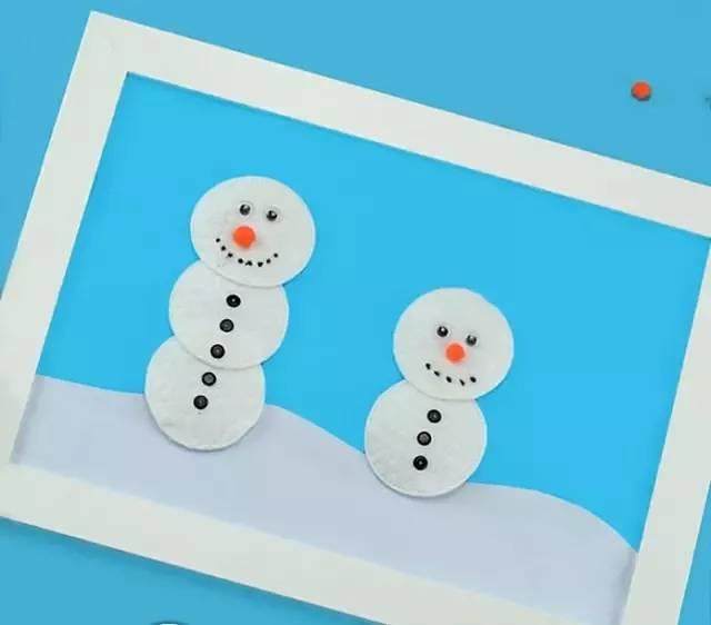 【手工】幼儿园冬季创意手工大全,简单好玩