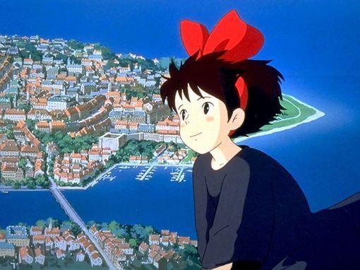 宫崎骏纸笔相遇描绘出的少女