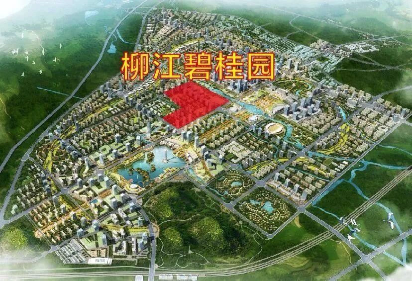 柳新城区规划效果图
