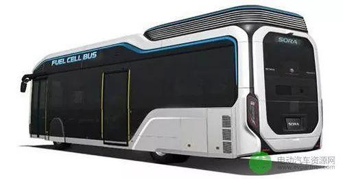 氢燃料电池巴士sora