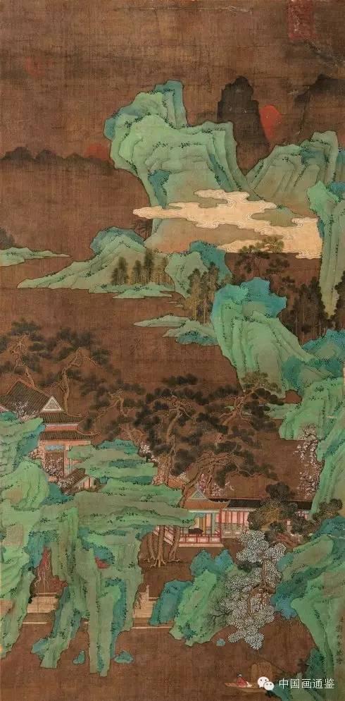 [经典欣赏]南宋主旋律画家刘松年的奇绝罗汉与绿水青山