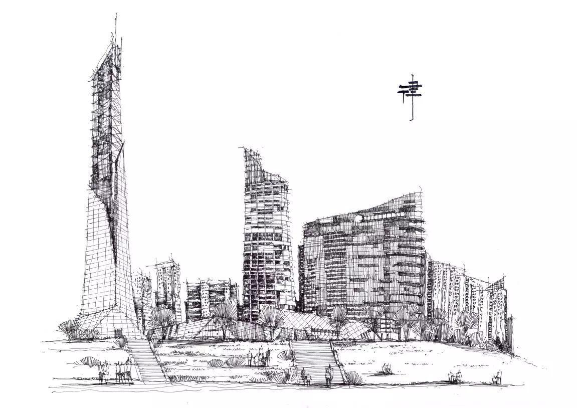 如何画好建筑手绘草图?