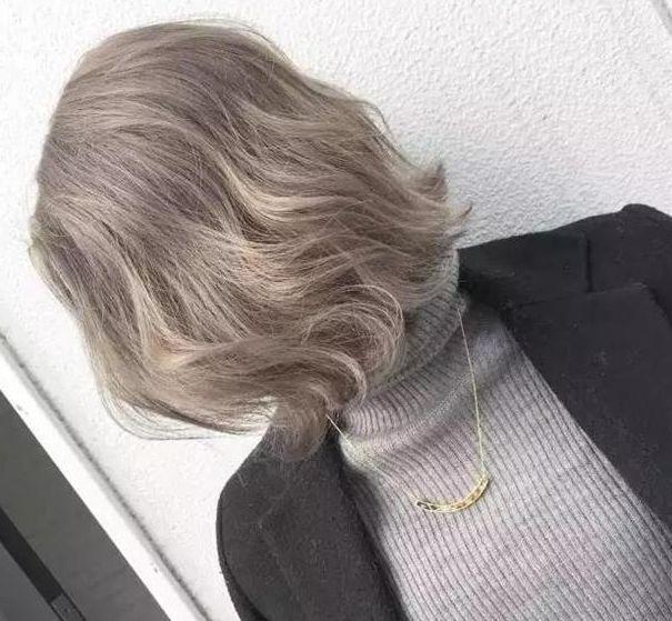 发型设计:2018短发流行色彩趋势