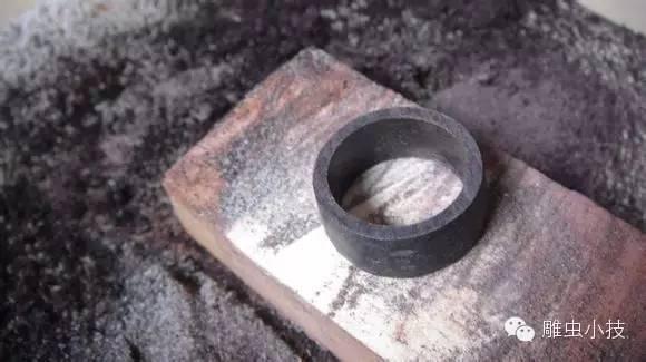 木戒指制作过程图解