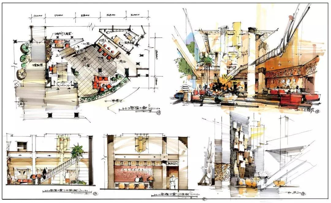 室内空间】考研快题设计范本#干货分享