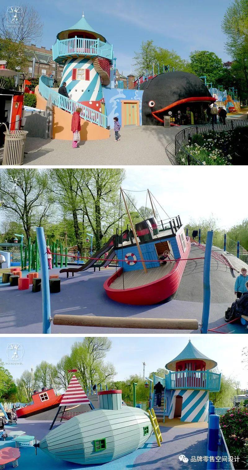 monstrum设计的疯狂儿童游乐场图片