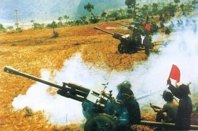 对越自卫反击战揭秘:雷霆万钧震敌寇,一万发炮弹打谅山