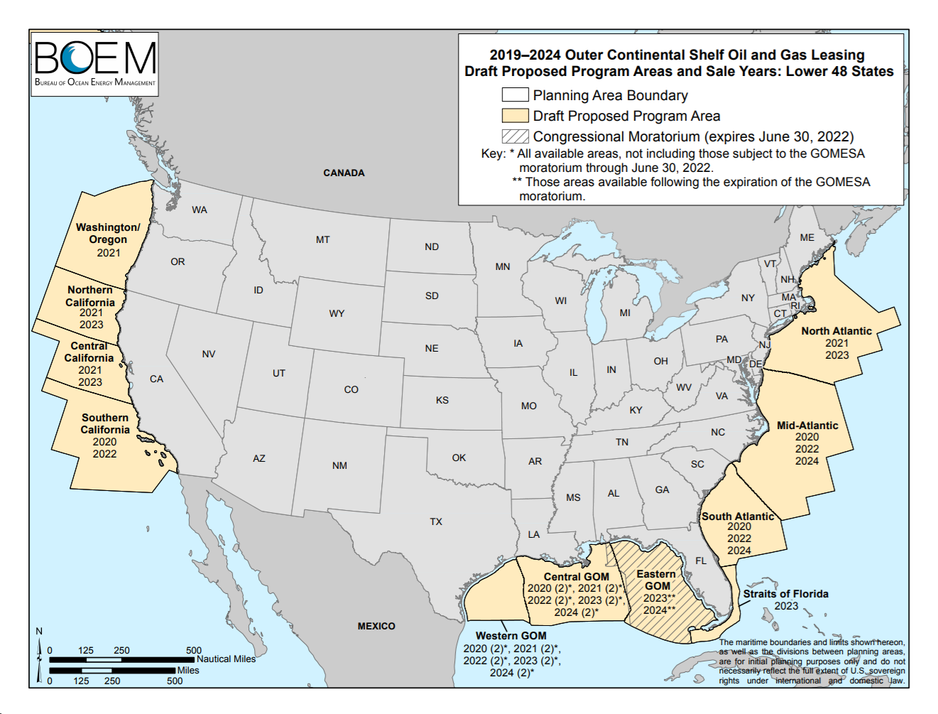 实现能源独立,特朗普政府将支持大规模海上钻油