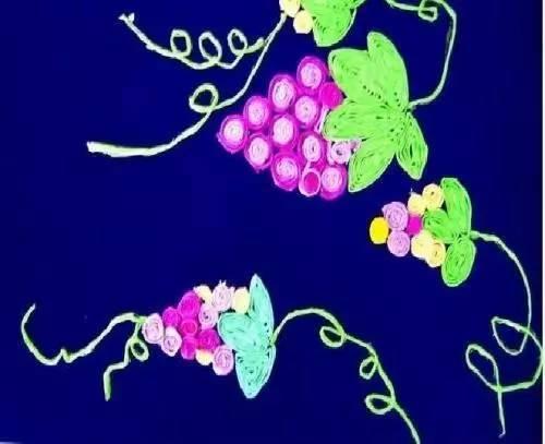 【水果手工】创意葡萄手工制作大全,葡萄一串串 手工作品