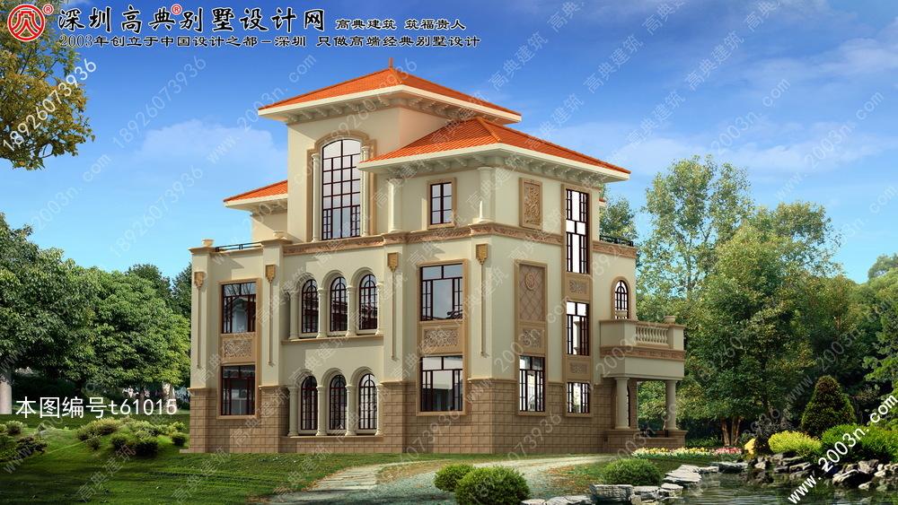 农村三层小别墅设计图设计还不错