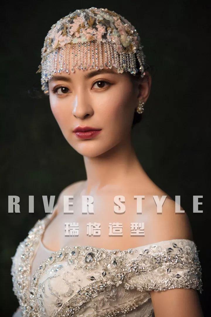2018最新时尚新娘造型作品发布!图片