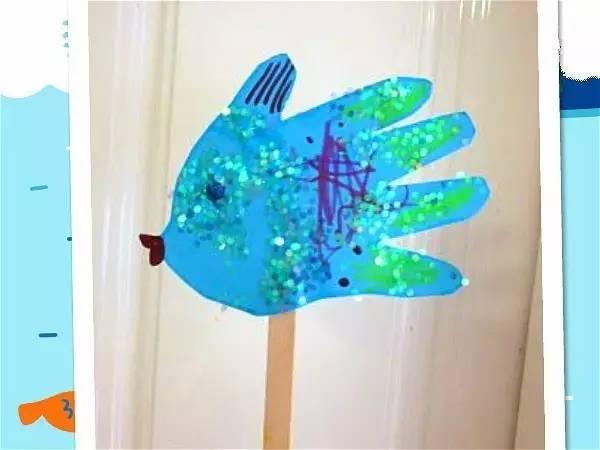 【创意手工】幼儿园创意手掌手工,创意无限!图片
