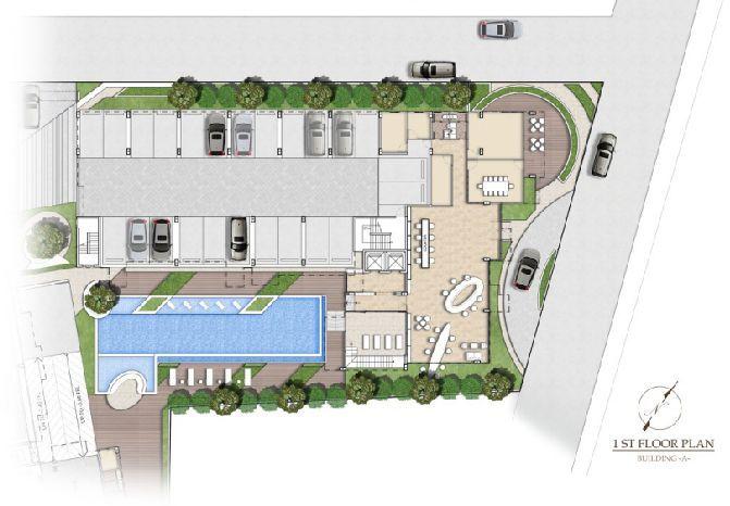 停车场平面图