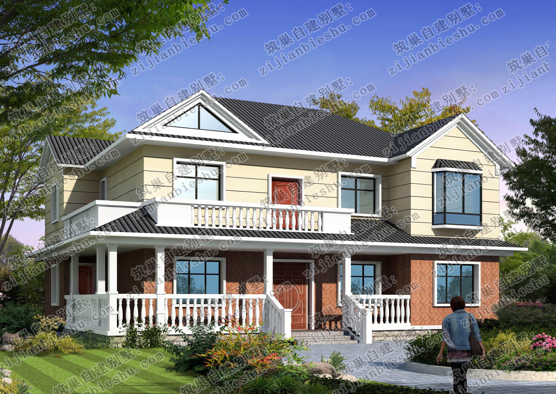 二层农村别墅美如虚幻,造价不到30万