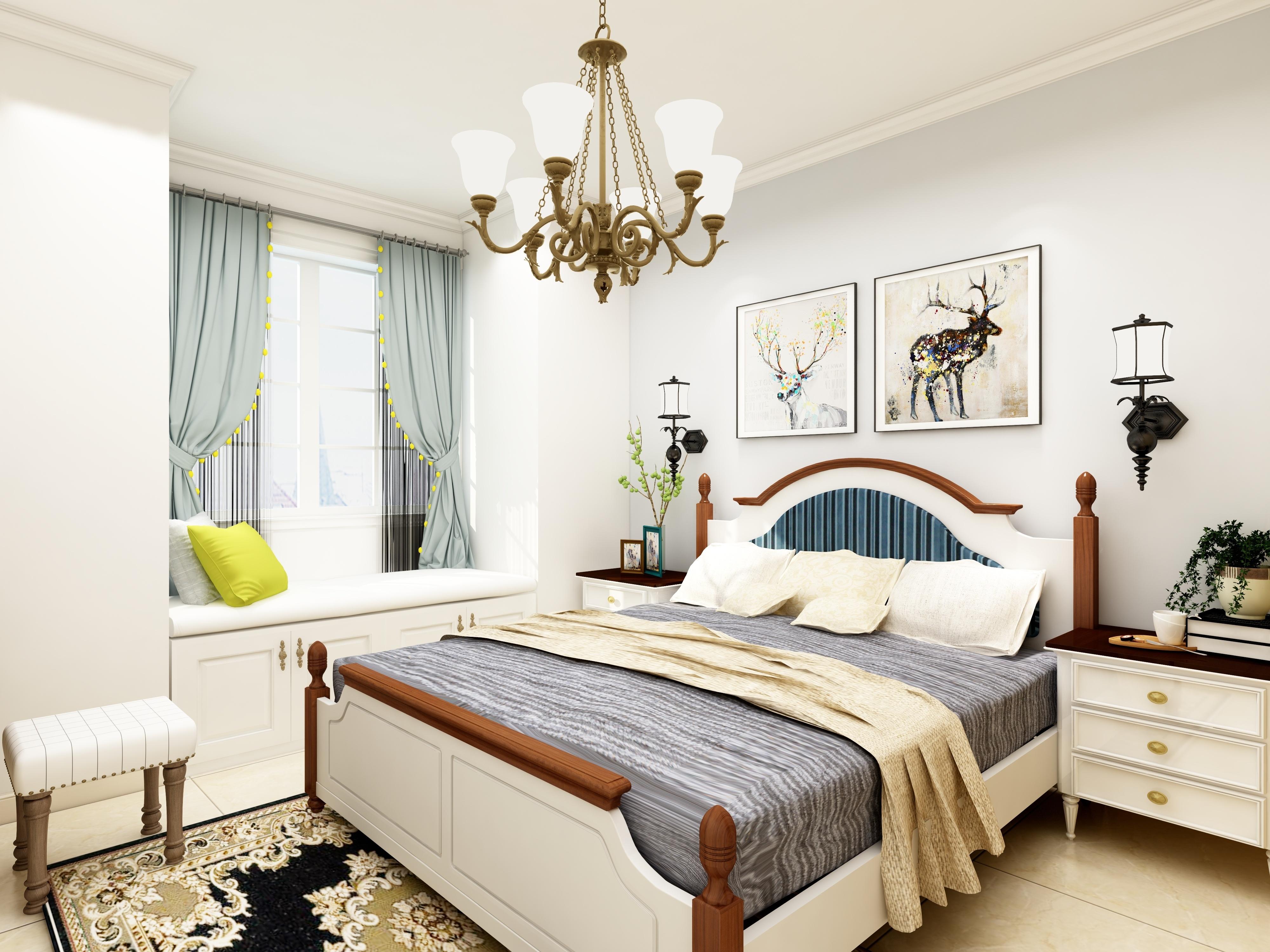 其它 正文  美式田园风格中客厅的家具通常具备简化的线条,粗犷的体积