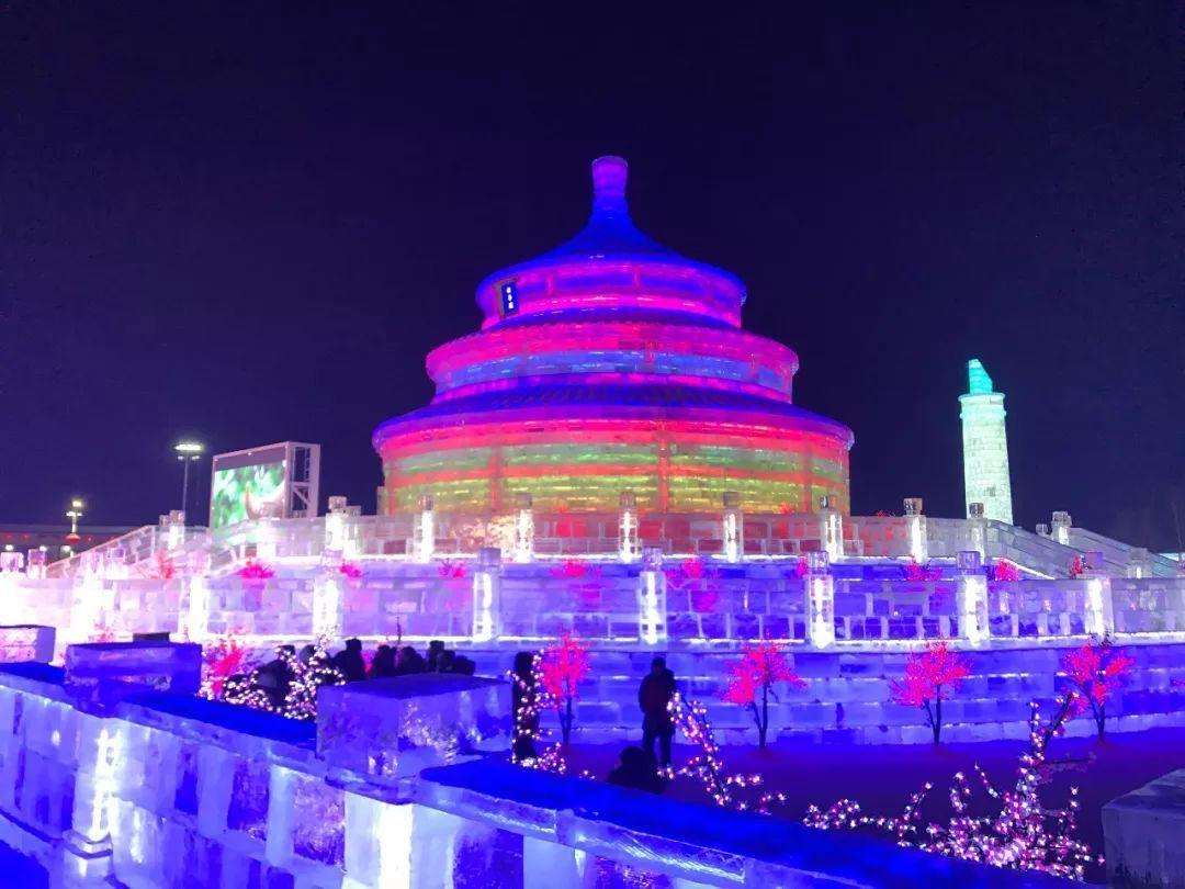 哈尔滨万达冰灯大世界暮光之城飘花电影图片