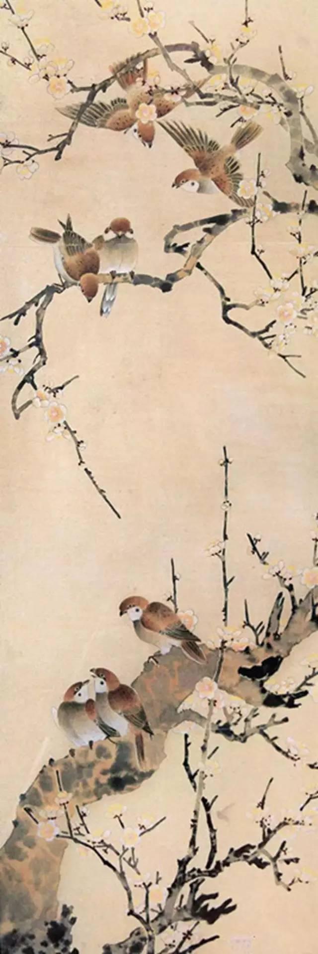 陈之佛工笔花鸟作品欣赏