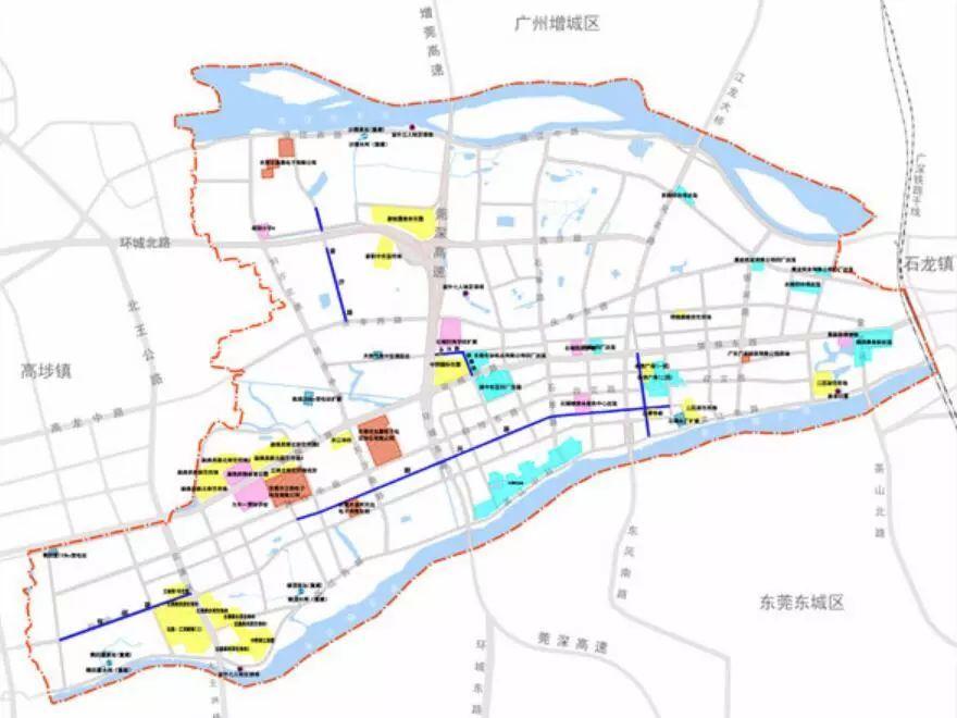 东莞新城区最新规划出炉 石碣未来3年要大变样