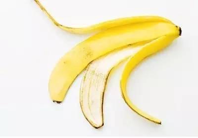 香蕉皮简笔画-美白护肤全靠它 而你竟把它当垃圾扔掉