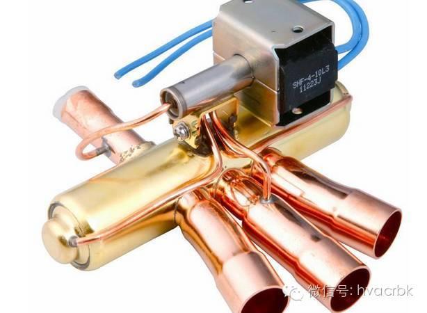 科技 正文  四通换向阀适用于中央空调,单元式空调器等热泵型空调系统图片