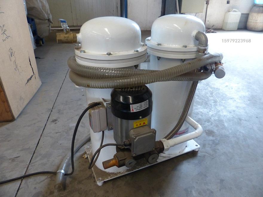 双动力柴电两用扒渣机油料的选用与过滤再利用