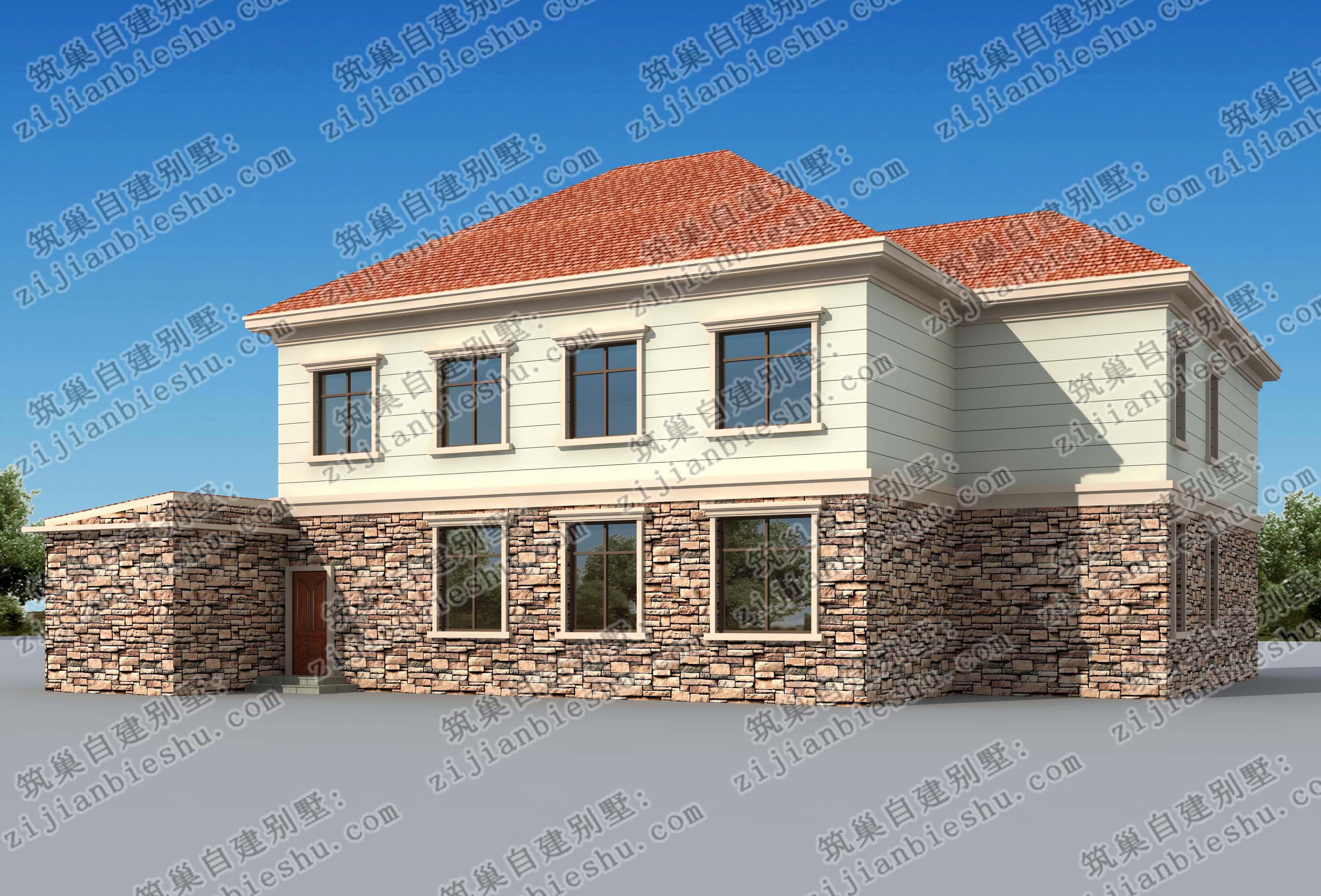 二层农村豪华型别墅,主体造价30万!_搜狐其它_搜狐网
