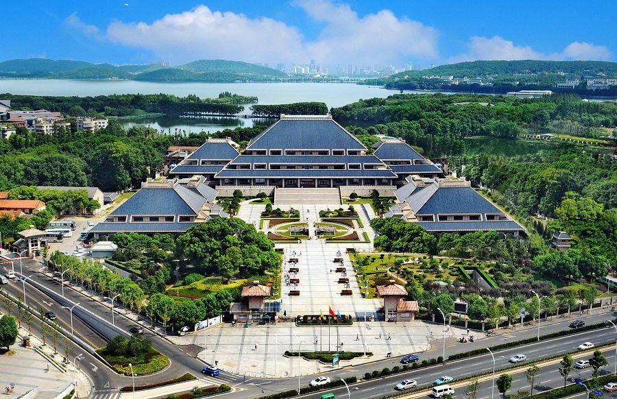图为:湖北省博物馆扩建工程设计 中南建筑设计院股份有限公司