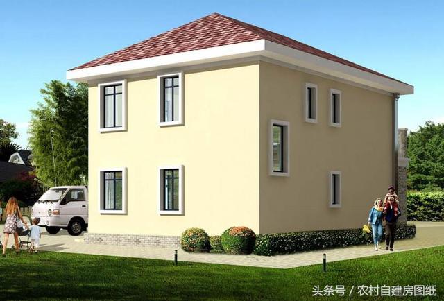 农村15万二层楼房设计图,3款自建房别墅,哪一款是你的