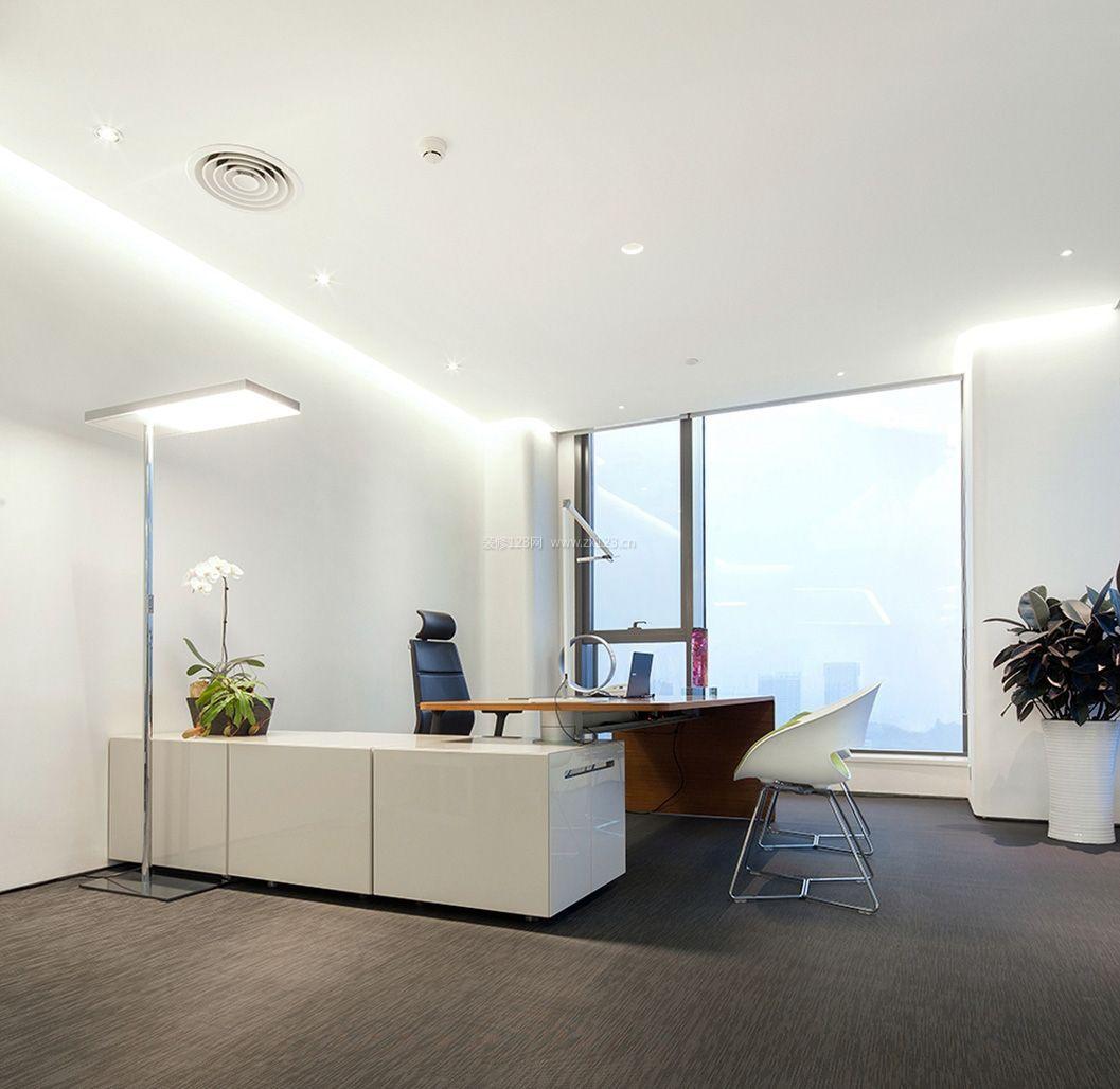 重庆领导办公室装修设计 简约领导办公室装修设计 指尖设计