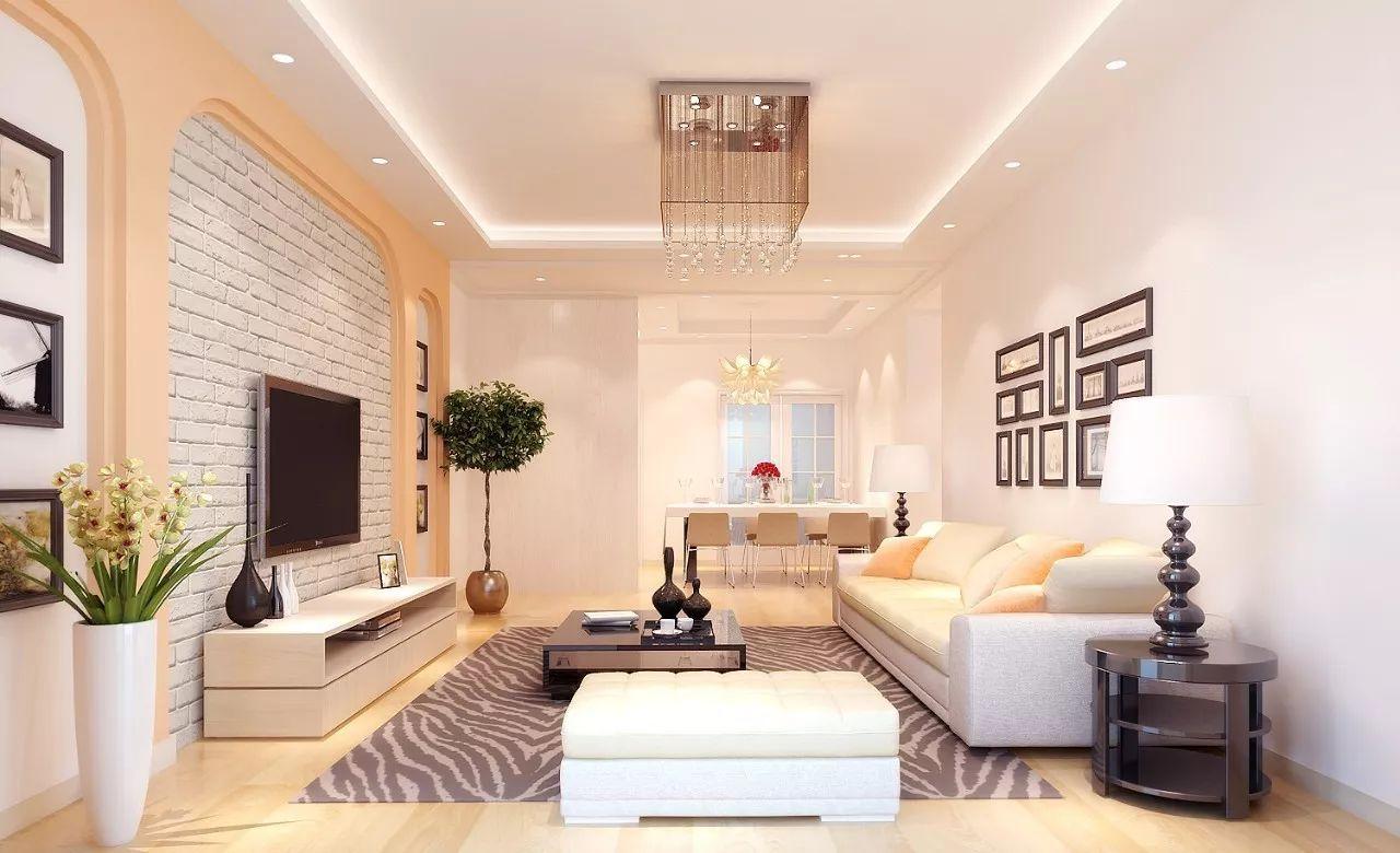 从配色到风格,8种客厅装修效果图给你装修多一点灵感