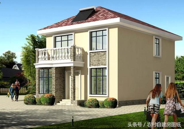 农村15万二层楼房设计图,3款自建房别墅,哪一款是你的最爱