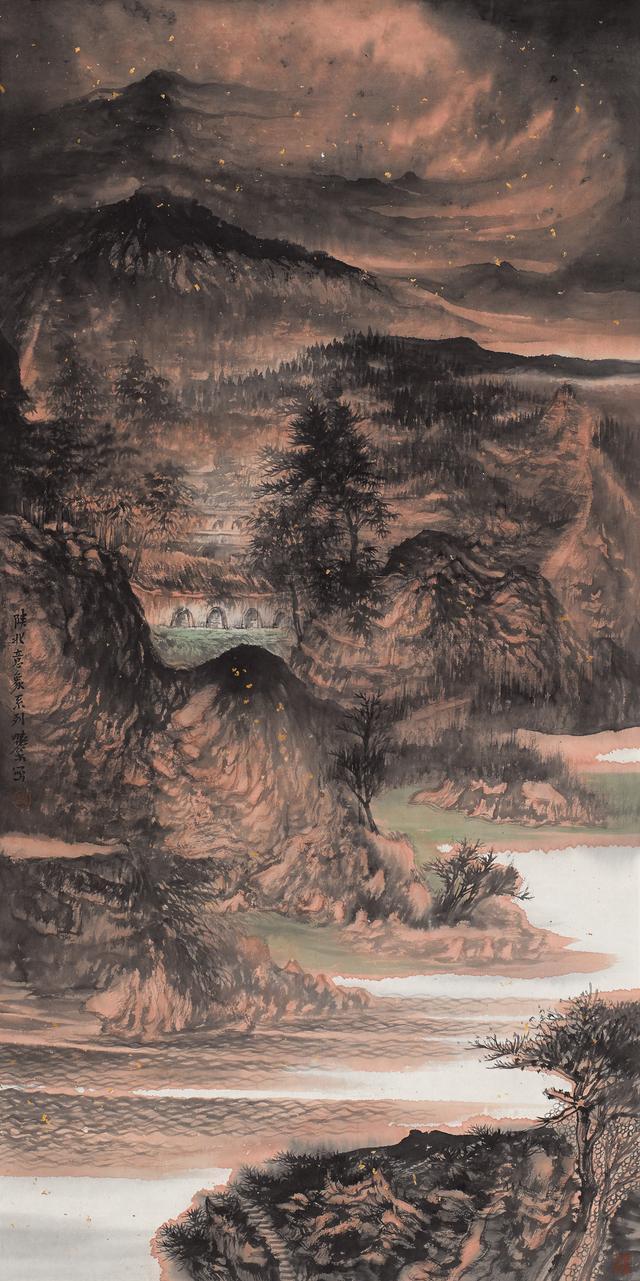 头条 李晓松 郭子良中国画展览