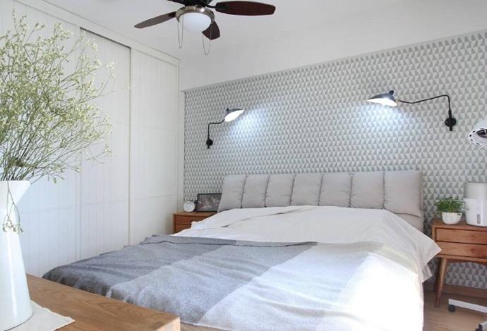 卧室床头背景墙怎么选?按照风格选,睡觉更舒服!图片