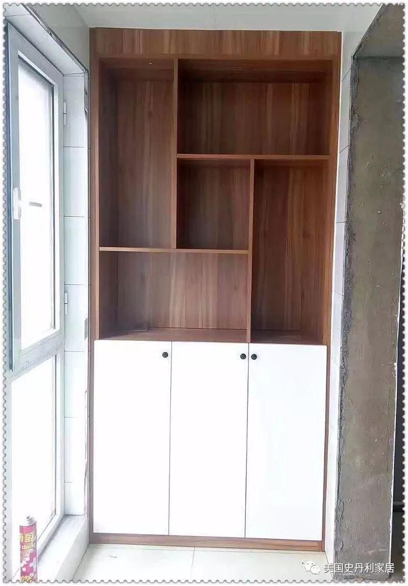 简欧圣玛利亚阳台柜,门板线条与精湛工艺尽显欧式优雅品味;上下封闭式